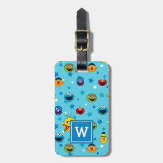 Sesame Street | Best Friends Star Pattern Luggage Tag