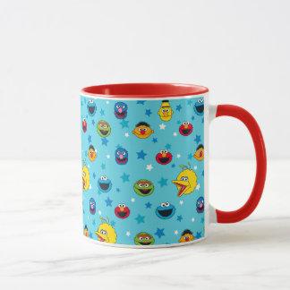 Sesame Street | Best Friends Star Pattern Mug