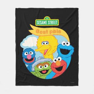 Sesame Street Character Art Fleece Blanket