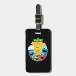 Sesame Street Character Art Luggage Tag