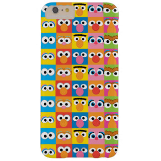 Sesame Street Character Eyes Pattern Barely There iPhone 6 Plus Case