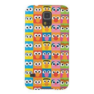 Sesame Street Character Eyes Pattern Case For Galaxy S5