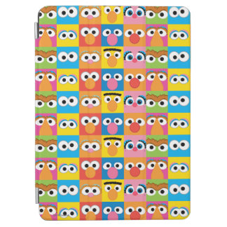 Sesame Street Character Eyes Pattern iPad Air Cover