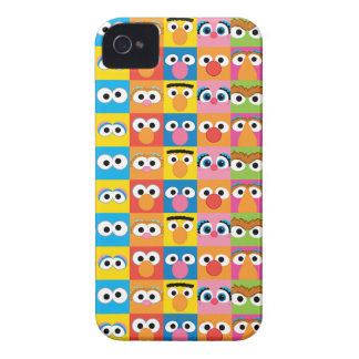 Sesame Street Character Eyes Pattern iPhone 4 Case-Mate Case