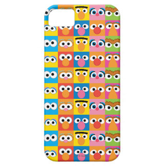 Sesame Street Character Eyes Pattern iPhone 5 Cover