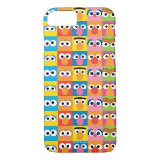 Sesame Street Character Eyes Pattern iPhone 8/7 Case
