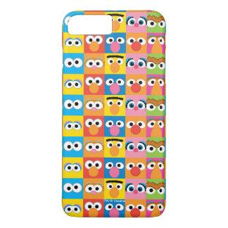Sesame Street Character Eyes Pattern iPhone 8 Plus/7 Plus Case
