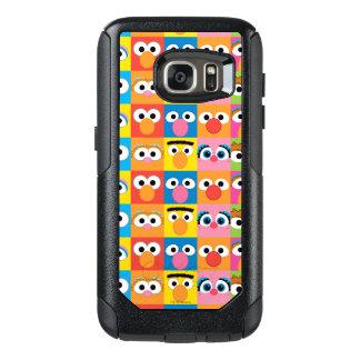 Sesame Street Character Eyes Pattern OtterBox Samsung Galaxy S7 Case
