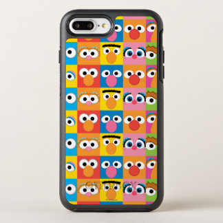 Sesame Street Character Eyes Pattern OtterBox Symmetry iPhone 8 Plus/7 Plus Case