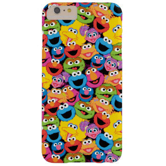 Sesame Street Character Faces Pattern Barely There iPhone 6 Plus Case
