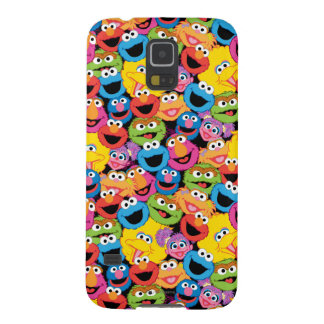 Sesame Street Character Faces Pattern Cases For Galaxy S5