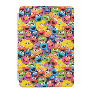 Sesame Street Character Faces Pattern iPad Mini Cover