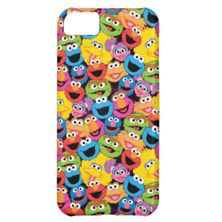 Sesame Street Character Faces Pattern iPhone 5C Case