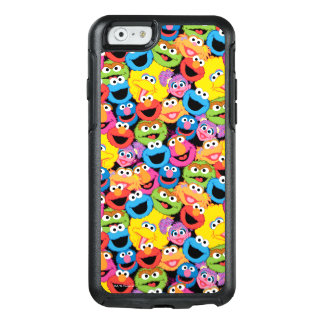 Sesame Street Character Faces Pattern OtterBox iPhone 6/6s Case