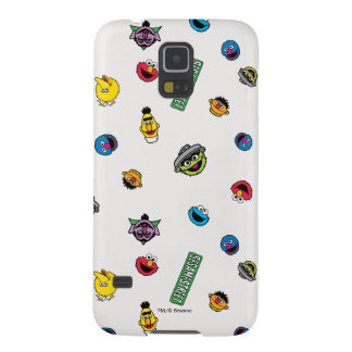 Sesame Street Character Pattern Cases For Galaxy S5