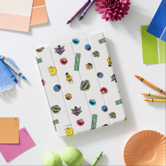 Sesame Street Character Pattern iPad Cover
