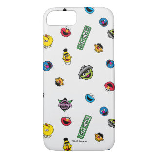 Sesame Street Character Pattern iPhone 8/7 Case