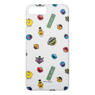 Sesame Street Character Pattern iPhone 8 Plus/7 Plus Case