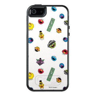 Sesame Street Character Pattern OtterBox iPhone 5/5s/SE Case