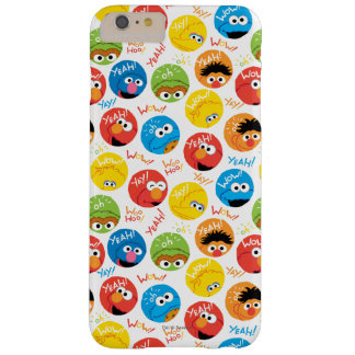 Sesame Street Circle Character Pattern Barely There iPhone 6 Plus Case