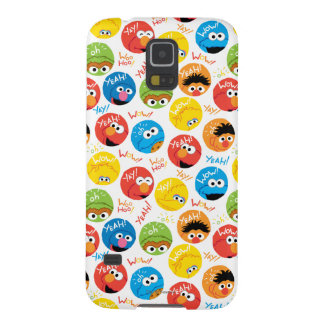 Sesame Street Circle Character Pattern Cases For Galaxy S5