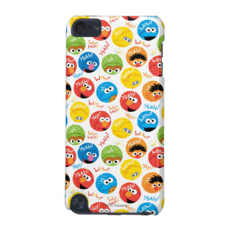 Sesame Street Circle Character Pattern iPod Touch 5G Cases