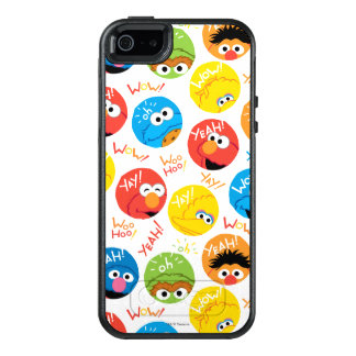 Sesame Street Circle Character Pattern OtterBox iPhone 5/5s/SE Case