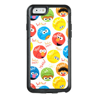 Sesame Street Circle Character Pattern OtterBox iPhone 6/6s Case