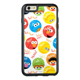 Sesame Street Circle Character Pattern OtterBox iPhone 6/6s Plus Case