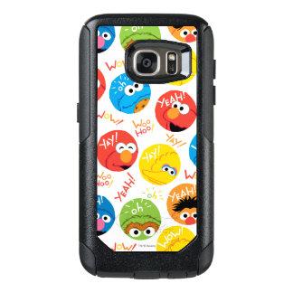 Sesame Street Circle Character Pattern OtterBox Samsung Galaxy S7 Case