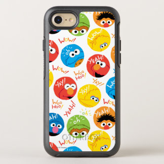 Sesame Street Circle Character Pattern OtterBox Symmetry iPhone 8/7 Case
