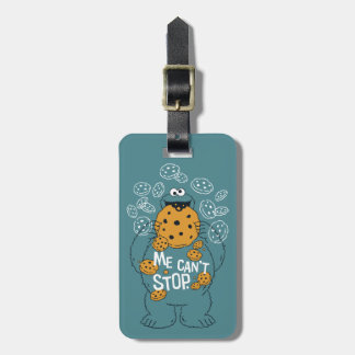Sesame Street | Cookie Monster - Me Can't Stop Luggage Tag