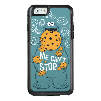 Sesame Street | Cookie Monster - Me Can't Stop OtterBox iPhone 6/6s Case