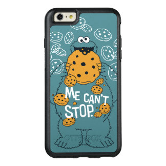 Sesame Street | Cookie Monster - Me Can't Stop OtterBox iPhone 6/6s Plus Case