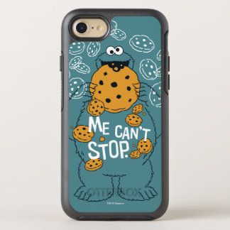 Sesame Street | Cookie Monster - Me Can't Stop OtterBox Symmetry iPhone 7 Case