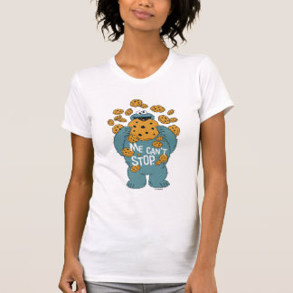 Sesame Street   Cookie Monster - Me Can't Stop T-Shirt