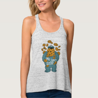 Sesame Street   Cookie Monster - Me Can't Stop Tank Top
