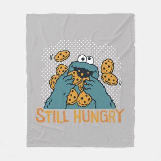 Sesame Street | Cookie Monster - Still Hungry Fleece Blanket