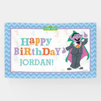 Sesame Street | Count von Count Birthday Banner