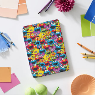 Sesame Street Crew Pattern iPad Air Cover
