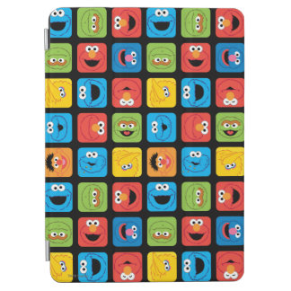 Sesame Street Cubed Faces Pattern iPad Air Cover