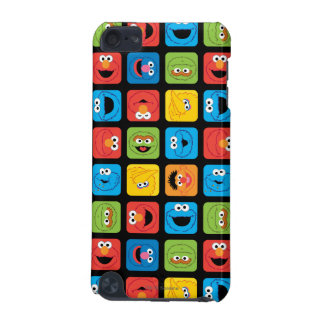 Sesame Street Cubed Faces Pattern iPod Touch 5G Case