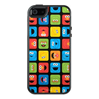 Sesame Street Cubed Faces Pattern OtterBox iPhone 5/5s/SE Case