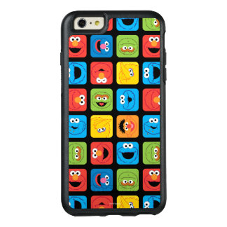 Sesame Street Cubed Faces Pattern OtterBox iPhone 6/6s Plus Case