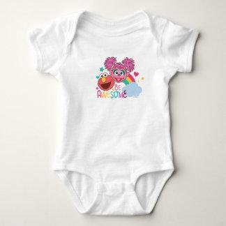 Sesame Street | Elmo & Abby - Be Awesome Baby Bodysuit