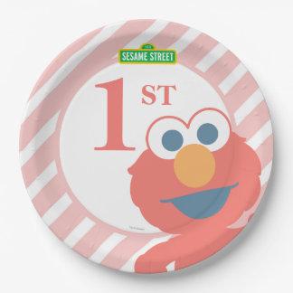 Sesame Street | Elmo - Baby Birthday Paper Plate