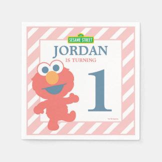 Sesame Street | Elmo - First Birthday Paper Napkin