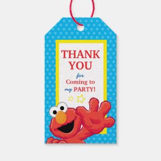 Sesame Street | Elmo - Polka Dot & Stars Birthday  Gift Tags