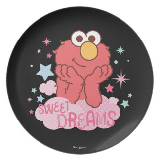 Sesame Street | Elmo - Sweet Dreams Plate