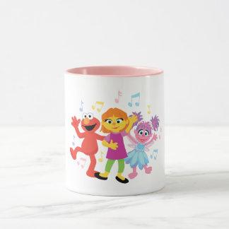 Sesame Street | Julia, Elmo & Abby Dancing Mug